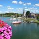 circuit GPS de rando,vtt, Balade à Givet : La Meuse et Givet Notre-Dame