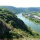 circuit GPS de rando, De Rancennes à Charnois par les Rochers du Petit Chooz : La Meuse et le village de Chooz