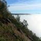 circuit GPS de vtt,  Monthermé - Champ Bernard : La longue Roche-Monthermé dans la brume