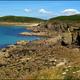 circuit GPS de cyclotourisme, Troad an avel (Circuit du vent) - Camaret sur Mer : La côte prés de Kermovan © Jacques Corneille
