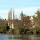 circuit GPS de rando, Le village des Roches – Fontgombault : Vue sur l'abbaye de Fontgombault © Flickr - gptt