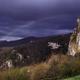 circuit GPS de cyclotourisme, CCS FFC Aude en Pyrénées - Circuit n°11 - Arques : Arc en ciel au dessus du Château d'Auriac ©Philoup Panoramio