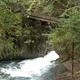 circuit GPS de cyclotourisme, La Ténarèze – Bordeaux – Hospice de Rioumajou : Petit pont dans la vallée du Rioumajou ©David B. Panoramio