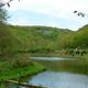 trail GPS : hike, De Han à Ave-Et-Auffe par le Bois de Niau et le Tienne des Grignaux : Vue sur l'étang et le Tienne des grignaux