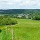 trail GPS : hike, De Tellin à Resteigne par le village de Belvaux : Point de vue sur le village de Resteigne