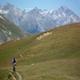 circuit GPS de vtt, Tour des Rois Mages en VTT - Névache : Fin de la dernière montée