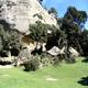 circuit GPS de rando, Les grottes de Cales - Lamanon :