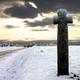 circuit GPS de rando, Circuit de Plumaudan (n° 2551) : Croix sous la neige à Plumaudan © Flickr - jphediti